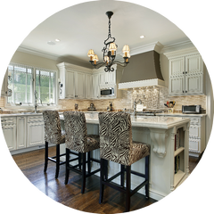 Need a talented kitchen or bath designer? We provide complete cabinet design services throughout Boise, Eagle, Meridian & Nampa.